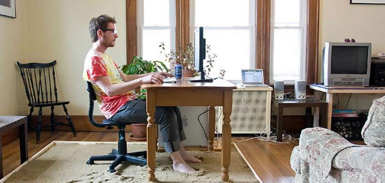 Profissionais que não se adaptam ao home office
