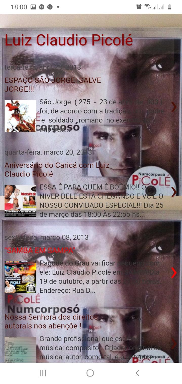Blog Luiz Claudio Picolé