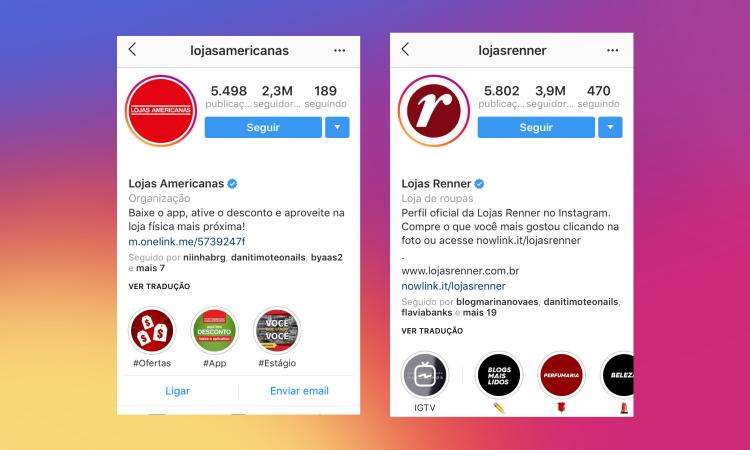 Criação de Instagram Profissional