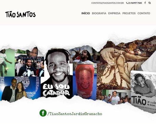 Tião Santos: site de empreendedor social